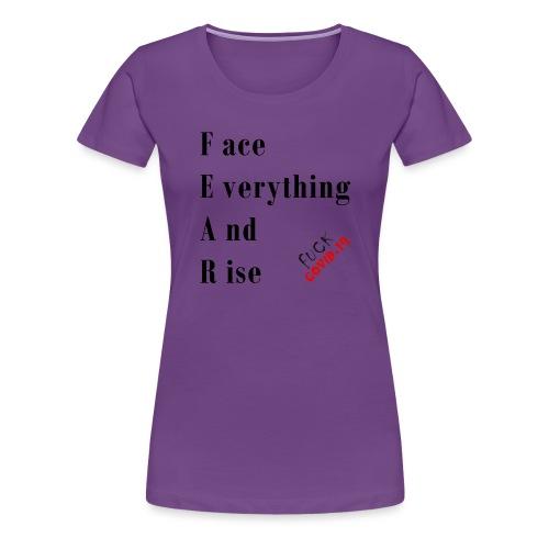 Fight COVID-19 #22 - Frauen Premium T-Shirt