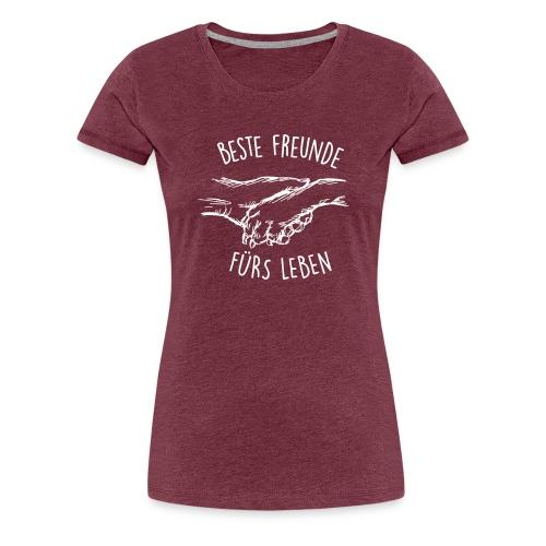 Vorschau: Beste Freunde fürs Leben - Frauen Premium T-Shirt