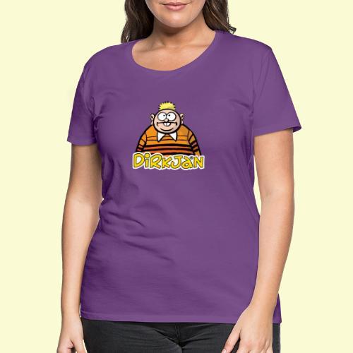 DIRKJAN Half - Vrouwen Premium T-shirt