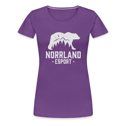 NorrlandEsport - Premium-T-shirt dam