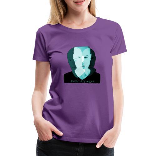 Front Man (turquise) - Dame premium T-shirt