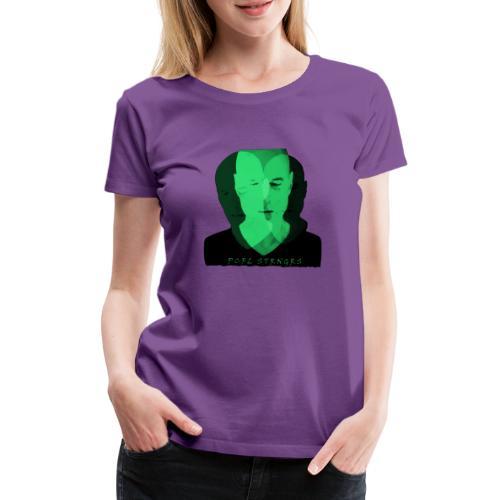 Front Man (green) - Dame premium T-shirt