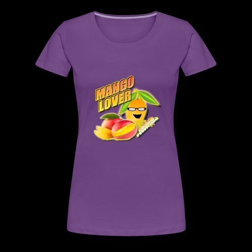 Mango Lover Kansidah Design - Frauen Premium T-Shirt
