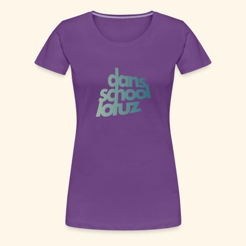 Lotuz Logo - Vrouwen Premium T-shirt
