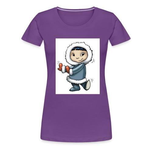 eskimo copy - Frauen Premium T-Shirt