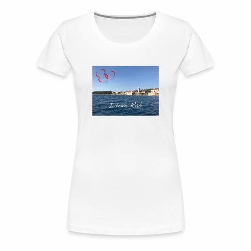 I love Rab - Frauen Premium T-Shirt