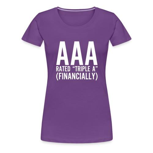 Triple A - Vrouwen Premium T-shirt