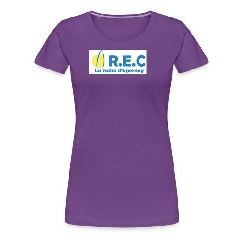 REC 2667x1161 PNG - T-shirt Premium Femme