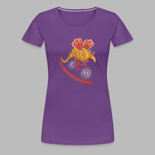 Flying Armadillo - Women's Premium T-Shirt