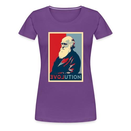 Charles Darwin - Maglietta Premium da donna