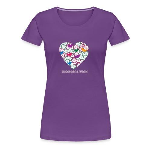 blossom-and-wren - Women's Premium T-Shirt