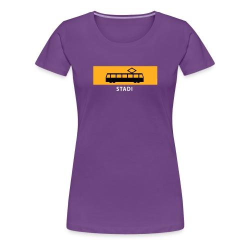 STADIN RATIKKA PYSÄKKI KYLTTI T-paidat ja lahjat - Naisten premium t-paita