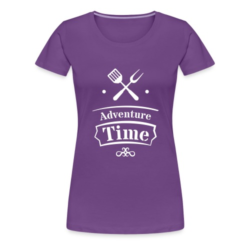 adventure time - Frauen Premium T-Shirt