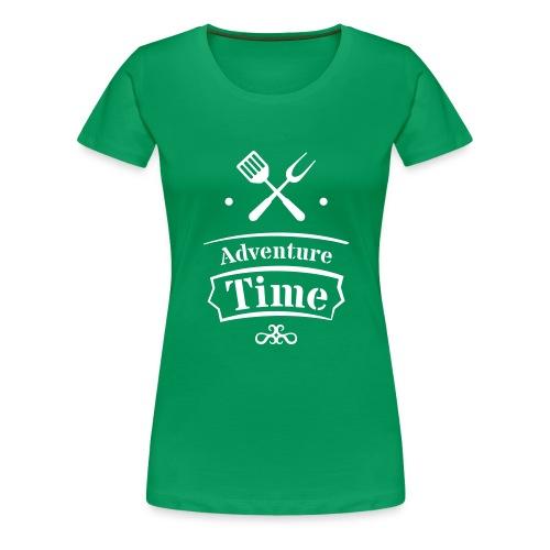 adventure time - Frauen Premium T-Shirt