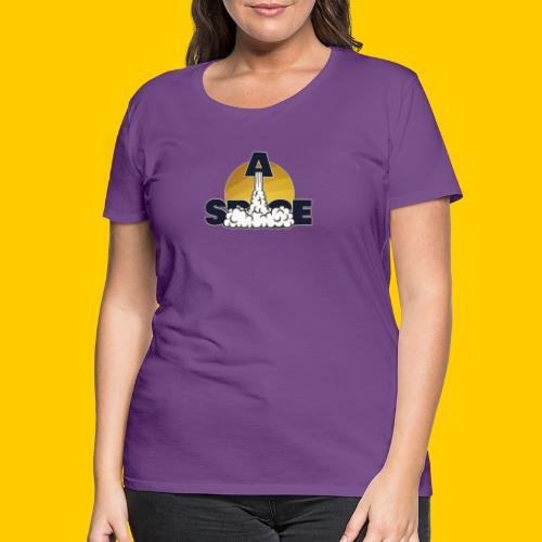 Space - Premium-T-shirt dam