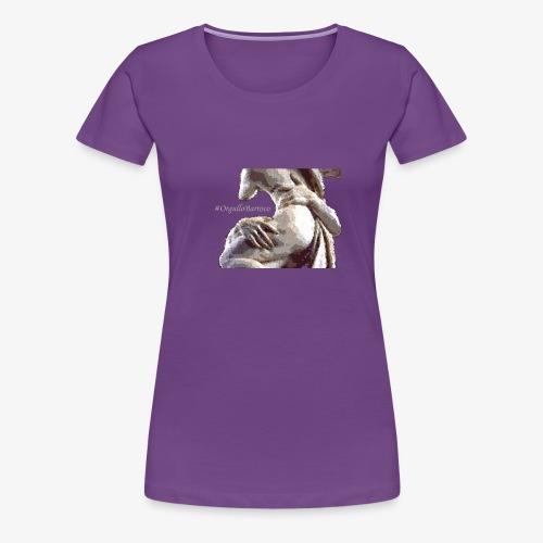 #OrgulloBarroco Rapto difuminado - Camiseta premium mujer