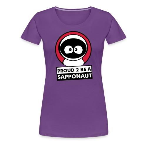 sapponaut v1 - Frauen Premium T-Shirt