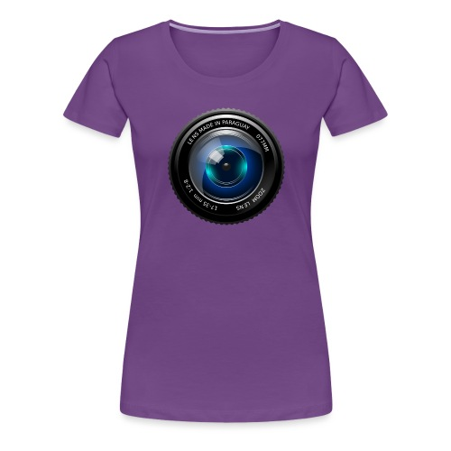 Camera Lens - Maglietta Premium da donna