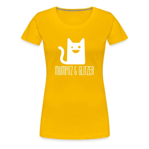 Mumpitz&Glitzer simple - Frauen Premium T-Shirt