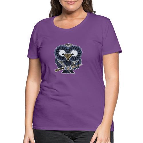 An owl - Women's Premium T-Shirt