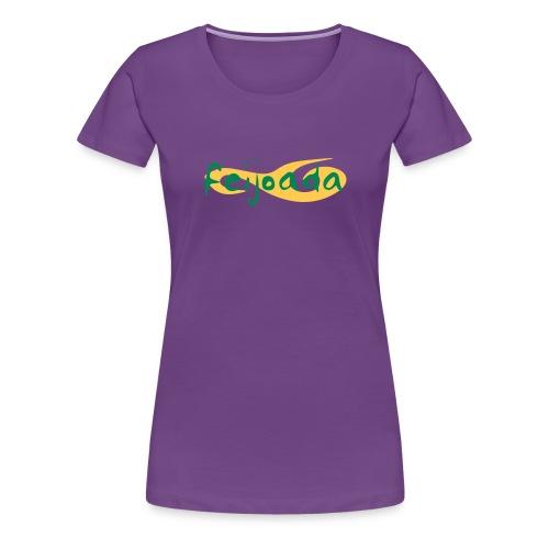 feijoada logo vektor - Frauen Premium T-Shirt