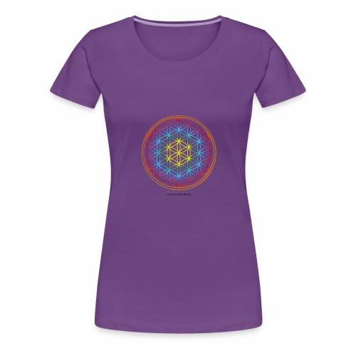 la fleur de vie - T-shirt Premium Femme