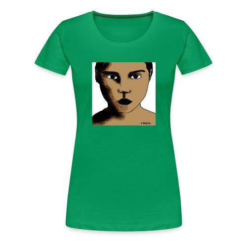 volto0001-jpg - Maglietta Premium da donna