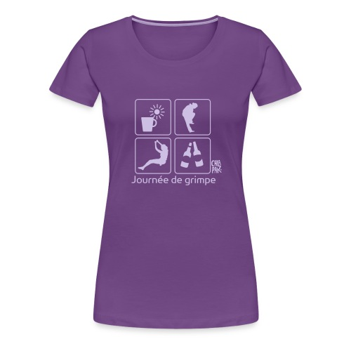 climbingdayw - T-shirt Premium Femme