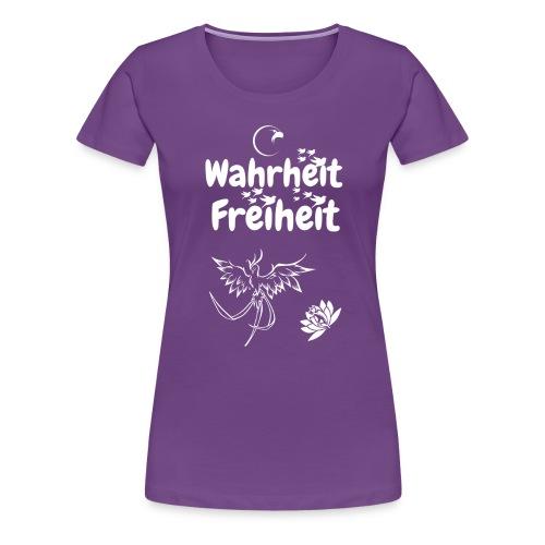Wahrheit Freiheit - Frauen Premium T-Shirt