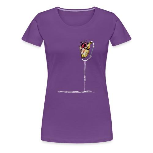 Climber Hearth - Maglietta Premium da donna