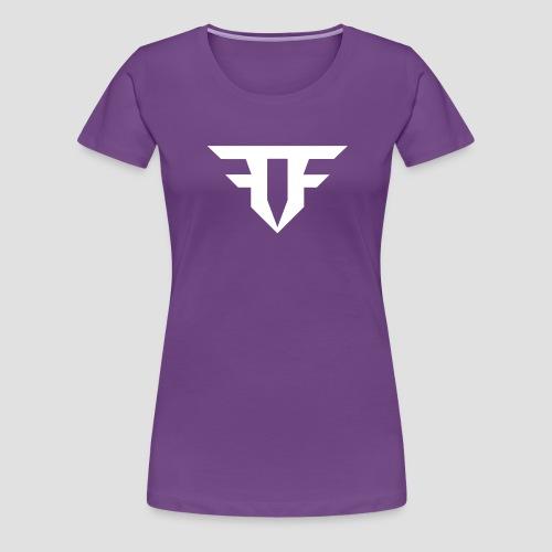 Fripfi Logo Weiß - Frauen Premium T-Shirt