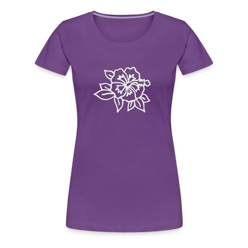 hibiskus - Frauen Premium T-Shirt