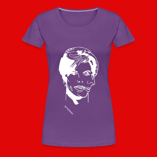 double face T-shirts - T-shirt Premium Femme