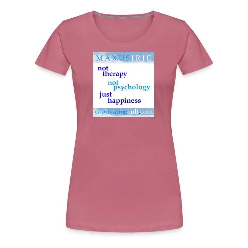 not therapy - Women's Premium T-Shirt