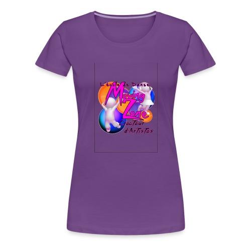 Composition1LogoMZ - T-shirt Premium Femme
