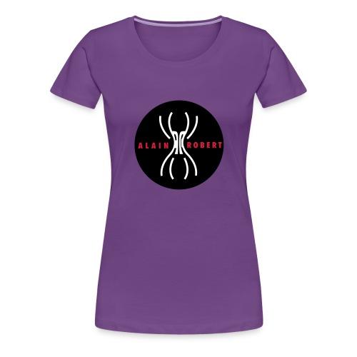 The French Spiderman - T-shirt Premium Femme