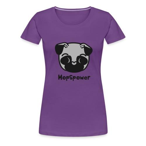 Mopspower - Frauen Premium T-Shirt