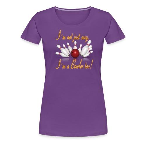 I´m not jus sexy - Premium-T-shirt dam