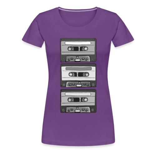 Colorless Cassettes - Premium-T-shirt dam