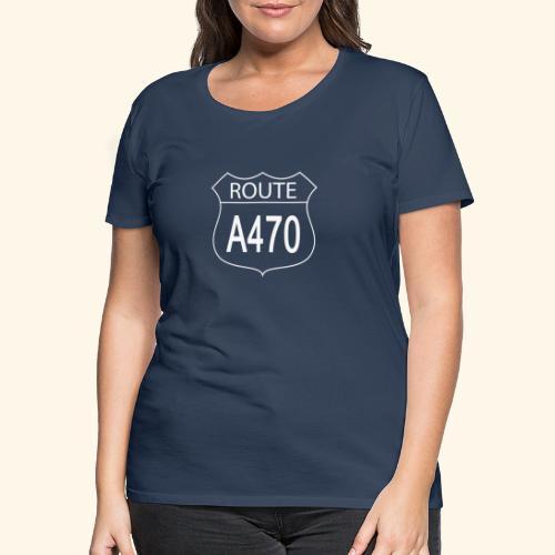 Route A470 - Women's Premium T-Shirt