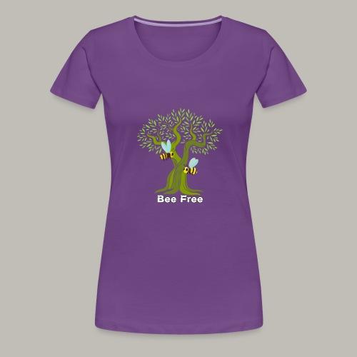 Bee Free - T-shirt Premium Femme