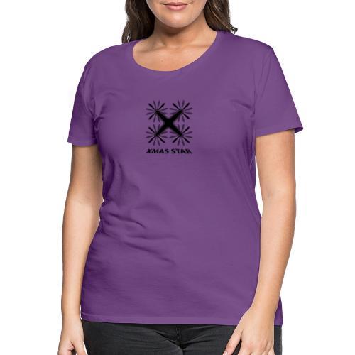 Nouvelle étoile de Noël - T-shirt Premium Femme