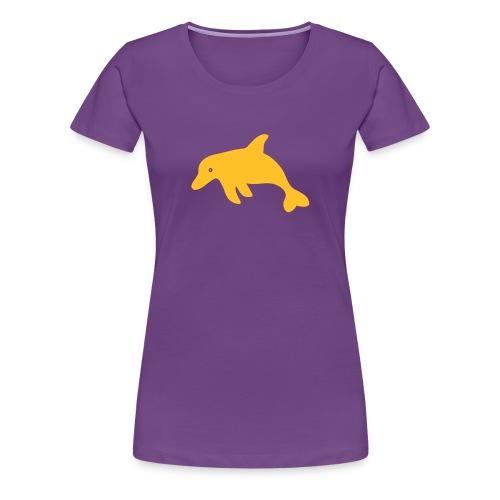 Delphin - Frauen Premium T-Shirt