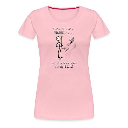Recorder Love f. dark colours - Women's Premium T-Shirt