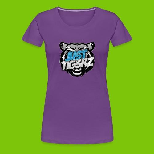 Copricapo TiG3Rz - Maglietta Premium da donna