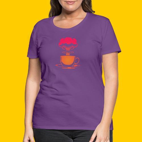 Atom coffee - Premium-T-shirt dam
