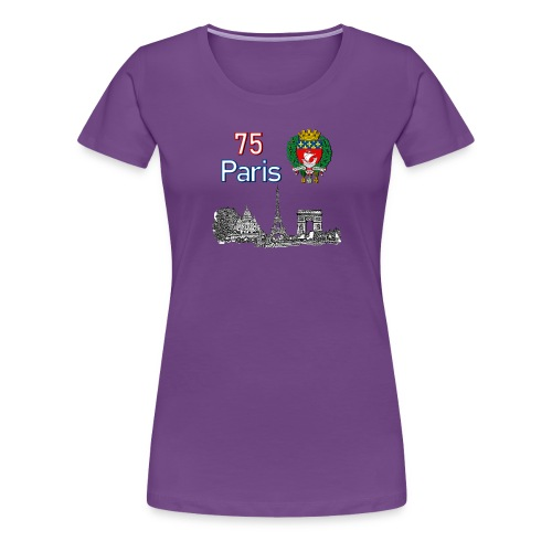 Paris france - T-shirt Premium Femme