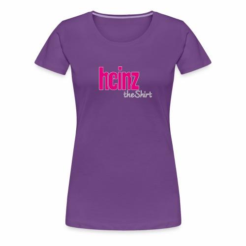 HEINZ the SHIRT - Frauen Premium T-Shirt