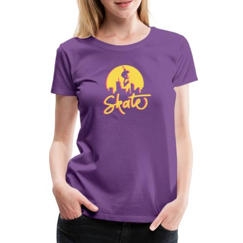 Skate - Premium-T-shirt dam