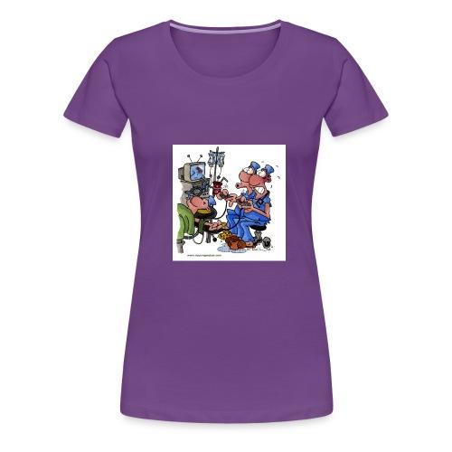 zocker - Frauen Premium T-Shirt